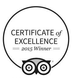 Oxwich Bay - Certificate of excellence 2015 winner