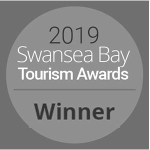Oxwich Bay Swansea Bay Tourism Award Winner